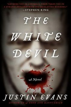 The White Devil by Justin Evans.  Seventeen-year-old Andrew Taylor has been sent to a British boarding school, which is also haunted by the ghost of a long-dead student.  Click on the cover to read the Waukegan Library's full review!