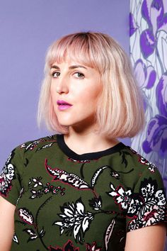 """The Surprisingly Flattering Beauty Trend  #refinery29  http://www.refinery29.com/purple-lips#slide-3  Piera Gelardi, executive creative director While Piera says that when it comes to lipstick color, she's """"open to the whole rainbow,"""" she was worried that purple would look too serious. So, Tulve chose a hue he describes as """"the color equivalent of a smize"""": It stands out against the cool tones in her skin with a subtle, eye-catching punch...."""