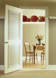 Update doors with molding