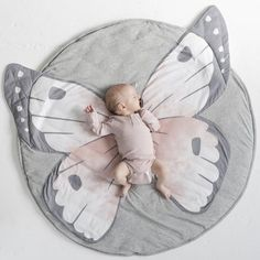 Buy Mister Fly: Deluxe Animal Face Playmat - Butterfly online and save! Let baby spread their wings on our divine new Butterfly playmat! In the most beautiful shades of grey and pink, our butterfly playmat features large w.