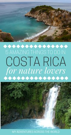 There are so many things to do in Costa Rica, and the best of its attractions are no doubt related to its natural beauty. Check out here the top five things to in Costa Rica for nature lovers including scuba diving at Drake Bay, zip-lining at Arenal, birdwatching in Carara National Park, visiting animal sanctuaries and much more! | Costa Rica Activities | Costa Rica Travel | Costa Rica Beach | Outdoor Adventures | Nature and Wildlife #CostaRica #Arenal #DrakeBay via @clautavani