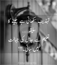 Poetry Quotes In Urdu, Best Urdu Poetry Images, Love Poetry Urdu, Urdu Quotes, Islamic Quotes, Wisdom Quotes, Quotations, Life Quotes, Qoutes