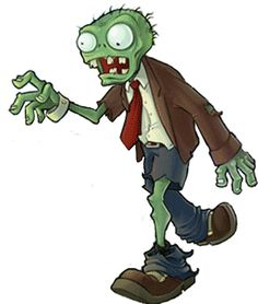 How to draw Zombie from Plants vs. Zombies Game with easy step by step drawing tutorial - Page 3 of 3 - How to Draw Step by Step Drawing Tutorials Ghost Drawing, Drawing Now, Diy Halloween Ghosts, Halloween Cartoons, Zombie Birthday Parties, Zombie Party, Birthday Ideas, Zombie Drawings, Easy Drawings