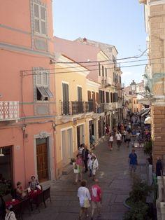 La Maddalena Town, Maddalena Islands, Sardinia, Italy
