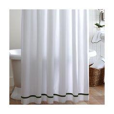 Found it at AllModern - Tailored Pique Cotton Shower Curtain