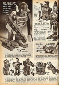 King-Zor, Big-Loo, Whistling Tree, Haunted House, Creeping Crab, etc. - 1963 Sears Christmas Catalog <3