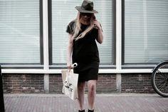 COSTER COPENHAGEN JURK. http://www.rockinitems.com/COSTER-COPENHAGEN-JERSEY-DRESS-W-FRINGE