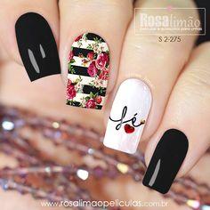 Latest Nail Designs, Creative Nail Designs, Creative Nails, Nail Art Designs, Cute Acrylic Nails, Glitter Nails, Cute Nails, Gelish Nails, Diy Nails