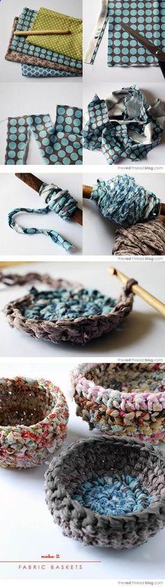 Fabric basket   DIY Stuff