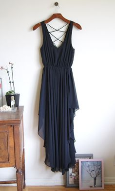 A Grecian Goddess dress.  I don't know what to say, it's all Greek to me!