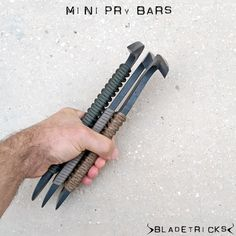 Bladetricks Mini Pry tactical bugout tools #kit #survival #bob