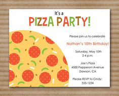 Pizza party invite inked by adair pinterest pizza party pizza party invite inked by adair pinterest pizza party birthdays and bday party ideas stopboris Choice Image