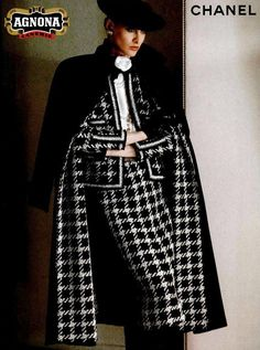 Inès de la Fressange, for Chanel Chanel Fashion, 80s Fashion, Fashion 2020, Couture Fashion, Chanel Couture, Runway Fashion, Fashion Brands, Vintage Fashion, Classy Outfits