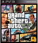 Grand Theft Auto V 5 GAME Sony Playstation 3 PS PS3 GTA GTAV GTA5