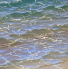 Want to learn how to paint water like this? Mark Waller's tutorial page is a great help in breaking it down!: #OilPainting #OilPaintingWater
