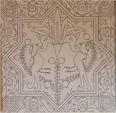 . Turkish Art, Turkish Tiles, Batik Pattern, Pattern Art, Islamic Tiles, Turkish Pattern, Interesting Drawings, Indian Flowers, Islamic Patterns