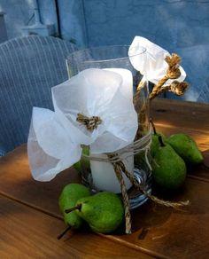 wax paper flowers
