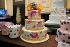 dulce desserts wedding cake nashville modern classic tasty, nashville wedding show booths, #nashville, #wedding, #gettingmarriedinnashville