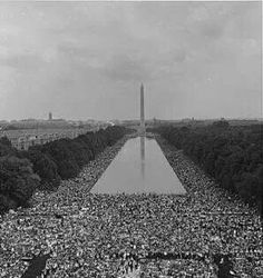 The day of Martin Luther King's I have a dream speach...