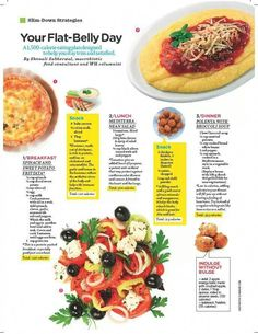 """Flat Belly Diet plan - You can see from the labels on all food products that """"nutrition"""" is a word that covers all of the food's nutrients. Before you get overwhelmed by complexity, dive into these simp… Healthy Diet Recipes, Healthy Snacks, Healthy Eating, Stay Healthy, Healthy Weight, Keto Recipes, Clean Eating, Stop Eating, Flat Belly Foods"""