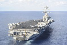 USS NIMITZ CVN -68 arrives in Naples, Italy. October 30, 2013 131022-N-TI017-027 by CNE CNA C6F, via Flickr