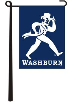 Wave your Washburn pride with this Washburn Ichabods Blue Garden Flag. Rally House has a great selection of new and exclusive Washburn Ichabods t-shirts, hats, gifts and apparel, in-store and online. Washburn University, Blue Garden, Garden Flags, Campaign, Career Goals, Medium, Law, Baby Shower, Dreams