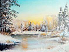 Зима в современной живописи. Обсуждение на LiveInternet - Российский Сервис Онлайн-Дневников