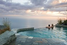 Infinity Pool at Post Ranch Inn in Big Sur