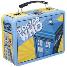 #DoctorWho Tin Tote!  Limited stock!