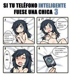 Si tu teléfono inteligente fuera chica #3