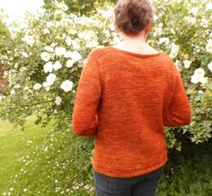 Shades of the Seventies Color Inspiration: Sun Rose Jumper knitting pattern by Laura Aylor - LoveKnitting