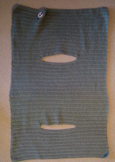 Convert to knitting - use measurements.Joyce Lives Here: Instructions for Crochet Wrap Vest