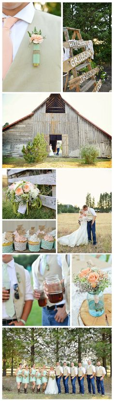 Leavenworth Barn Wedding, shotgun shell boutonniere, mason jars, cowgirl boots, Country Wedding, Rustic Country Wedding Decor, Leavenworth Wedding, Plain WA Wedding, Amy Lewis Photography, www.amylewisphotography.com
