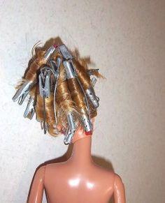 Barbie Doll Hair Styling Ideas