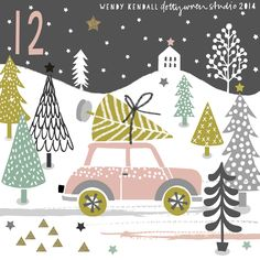 Wishing you all a very merry Christmas! Christmas Mood, Noel Christmas, Christmas Countdown, Christmas Design, Vintage Christmas, Christmas Crafts, Christmas Decorations, Christmas Tables, Nordic Christmas