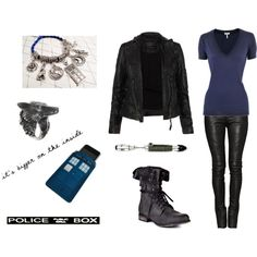 """""""9th doctor (doctor who)"""" by sherlockallday on Polyvore"""