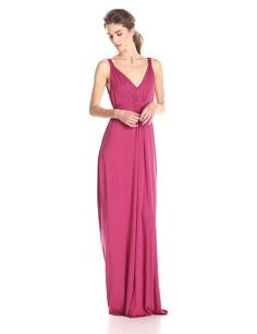 Quintana Sleeveless Tie Detail Maxi Dress by Rachel Pally