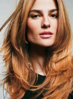 Cabelo Beleza e Saúde: Modelos de cortes repicados para cabelos longos