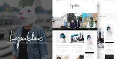 Your Personal Stunning Blog Ever  Lapin Blanc gives you the freedom to focus on your content – the king of your blog and enhance it with elegant pictures. Wow your readers with your expert contents...