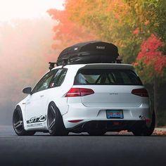 The VW Golf GTI RS mk7 #volkswagen #golfmk7 #carporn