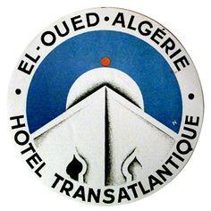 https://flic.kr/p/qqvUV | Sans titre | Erik Nitsche Hotel Transatlantique deco el oued algeria