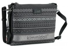 kimmidoll zweigeteilte Umhängetasche Anhänger Stickerei Emblem - Bags & more Emblem, Bags, Style, Fashion, Embroidery, Handbags, Swag, Moda, Fashion Styles