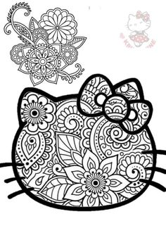 Hello Kitty Colouring Pages, Coloring Pages, Hello Kitty Pictures, Hello Kitty Items, Hello Kitty Wallpaper, Sanrio Characters, Colorful Wallpaper, Journal Ideas, Margarita