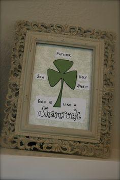 Saint Patrick's Day Shamrock Metaphor... who knew?!