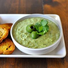 Love olives? Then you should try this incredible green olive dip.