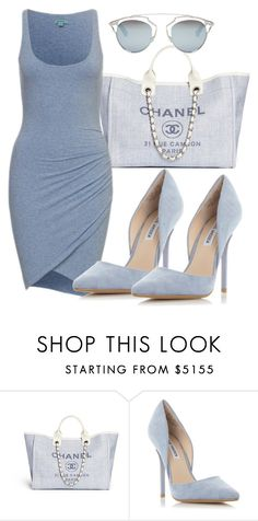 """""""THE BLUES"""" by samstyles001 on Polyvore featuring Steve Madden and Christian Dior"""