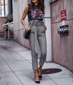 Laid-Back Allure with Marissa Webb Rocker Chic Outfit, Rocker Chic Style, Edgy Chic Style, Hipster Outfits, Tomboy Outfits, Emo Outfits, Dance Outfits, School Outfits, Office Outfits Women