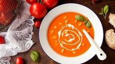 Lekkere tomatensoep met balletjes
