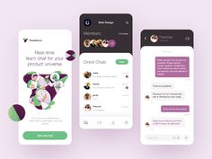 Flowdock Group Chat App by Halo Mobile for Halo Lab on Dribbble