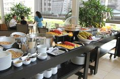 Breakfast buffet at In- Yo Cafe at Trump International Hotel Waikiki Beach Walk